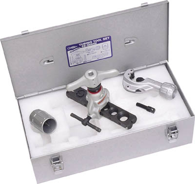 【ついに再販開始!】 TS456WDH チュービングツールセット(偏芯式)手動電動兼用型、新冷媒・新規格対応:設備プロ王国 店 スーパー-DIY・工具