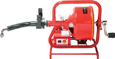 FX3-8-15 ヤスダ 排水管掃除機FX3型電動(直送元払い・沖縄/離島除く)