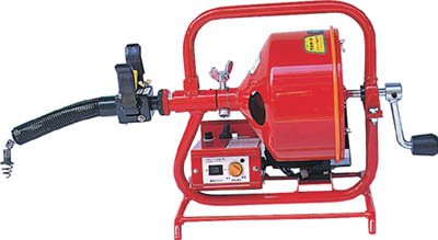 FX3-8-9 ヤスダ 排水管掃除機FX3型電動(直送元払い・沖縄/離島除く)