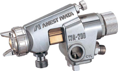 WA-200-122P アネスト岩田 大形自動ガン ノズル口径 Φ1.2