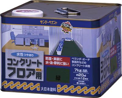 267477 サンデーペイント 水性コンクリートフロア用 7kg ライトグレー