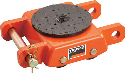 TUW-5S TRUSCO オレンジローラー ウレタン車輪付 標準型 5TON