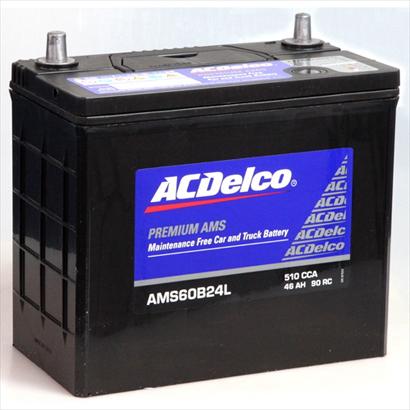 ACDelco充電制御車対応国産車用バッテリーメンテナンスフリーAMS60B24L主な互換品番:46B24L 55B24L 60B24L 廃バッテリー無料回収 北海道 返品送料無料 ご希望の方 東北 対応いたします 注文後の変更キャンセル返品 沖縄県以外