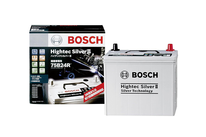 BOSCH(ボッシュ)バッテリーハイテックシルバー バッテリーHTSS-75B24R主な互換商品:46B24R/55B24R/60B24R/65B24R/75B24R【廃バッテリー無料回収、北海道・東北・沖縄県以外、   ご希望の方、対応いたします】[配送区分:中型30kg]