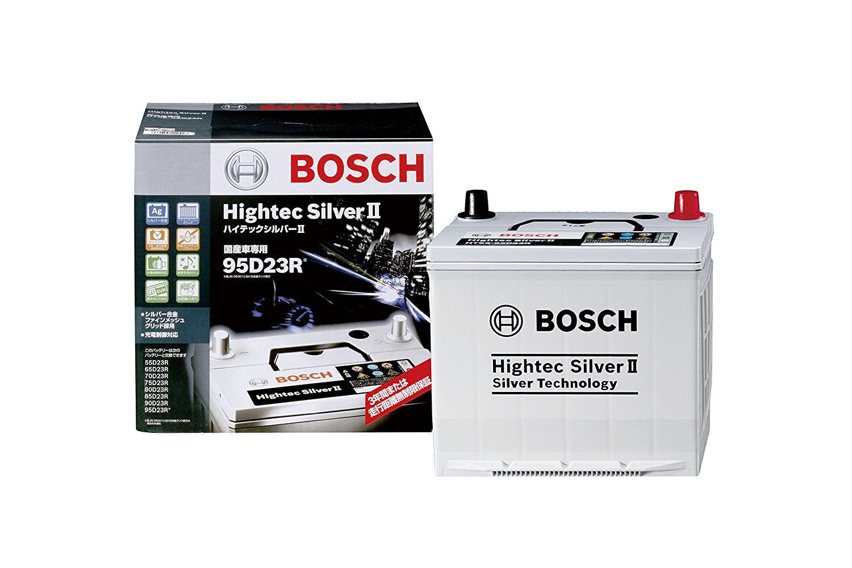 BOSCH(ボッシュ)バッテリーハイテックシルバー バッテリーHTSS-95D23R主な互換商品:75D23R/80D23R/85D23R/90D23R/95D23R【廃バッテリー無料回収、北海道・東北・沖縄県以外、   ご希望の方、対応いたします】[配送区分:中型30kg]
