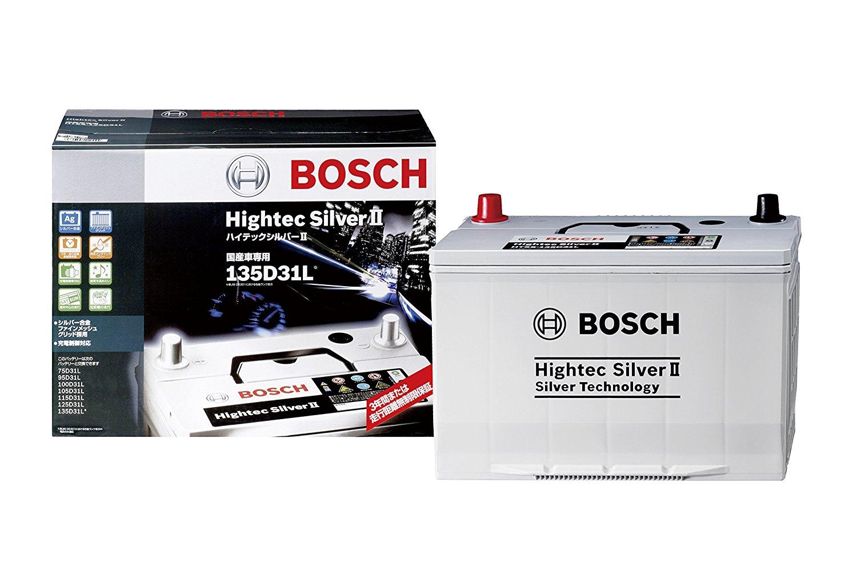 BOSCH(ボッシュ)バッテリーハイテックシルバー バッテリーHTSS-135D31L主な互換商品:95D31L/105D31L/115D31L/125D31L【廃バッテリー無料回収、北海道・東北・沖縄県以外、   ご希望の方、対応いたします】[配送区分:中型30kg]