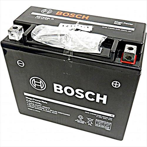 BOSCHバイク用バッテリー液入充電済みRBTX20L-N主な互換品番:YTX20L-BS/DTX20L-BS地域限定(本州・四国・九州)送料無料
