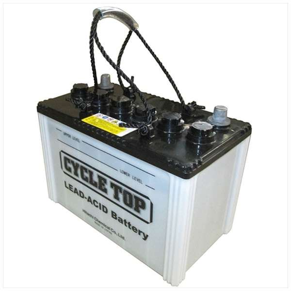 日立化成 日立バッテリーサイクルサービス用蓄電池サイクルトップ HIC80-HJ(EB65)【廃バッテリー無料回収、北海道・東北・沖縄県以外、   ご希望の方、対応いたします】[配送区分:中型30kg]