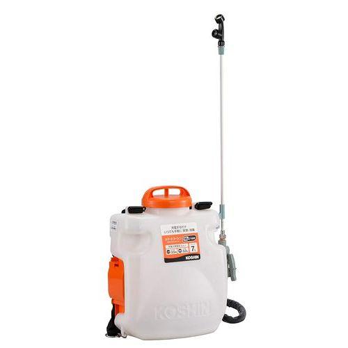 工進SLS-7充電式噴霧器 専用充電器付き タンク容量:7L地域限定(本州・四国・九州)送料無料