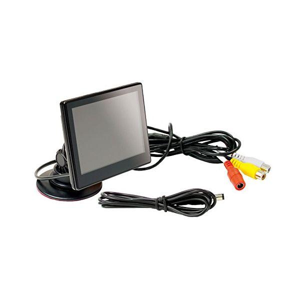 Beat-Sonic ビートソニックDPM43.5インチ車載ワイド液晶モニターセット 両面テープスタンド付地域限定(本州・四国・九州)送料無料