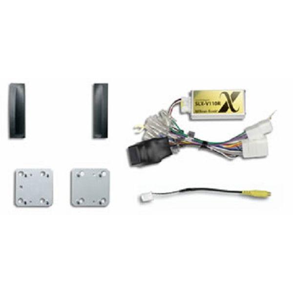 ビートソニック Beat-SonicSLX-V110Rサウンドアダプター 映像入力ハーネスセット プリウス20系 SLXシリーズ 全てのスピーカーが鳴ります。[配送区分:小型20kg]