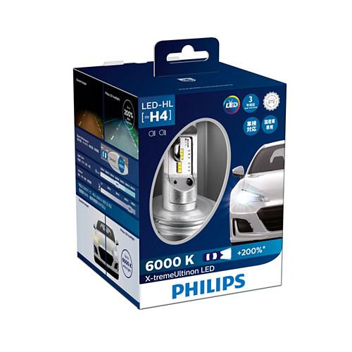 フィリップスPHILIPS12953BWX2JPLED ヘッド H4 6000K12953BWX2JP地域限定(本州・四国・九州)送料無料