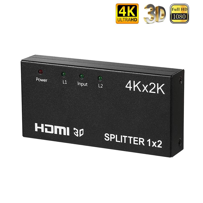 メール便発送 登場大人気アイテム 代引不可 HDMI 分配器 2画面同時出力可能 4K 30Hz 2160P 1入力2出力 hdmiセレクター スプリッタ Apple フルHD 高品質 1080P Xbox Blu-ray スイッチ TV tec-4ksplit02 3D PS4