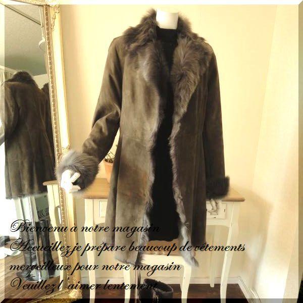 seven-fairy | Rakuten Global Market: Shearling coat Shearling ...