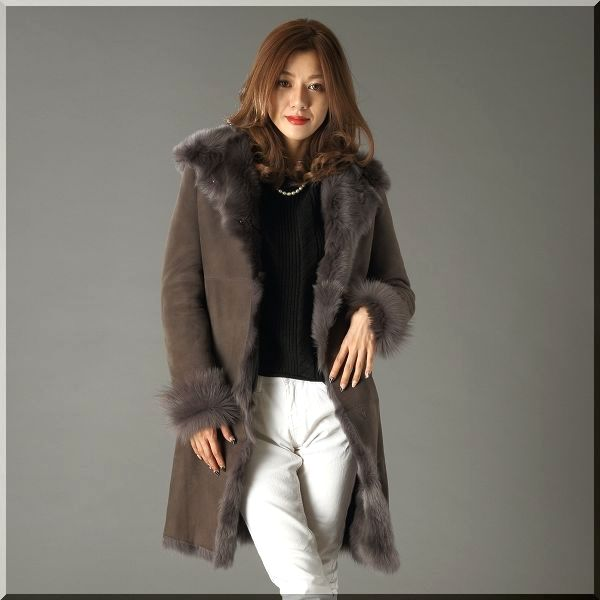 seven-fairy | Rakuten Global Market: Shearling coat hood / 12191 ...
