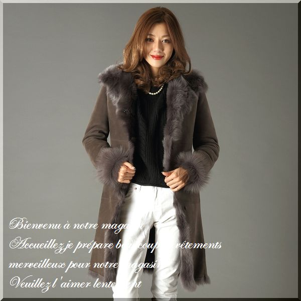 seven-fairy | Rakuten Global Market: Shearling coat Shearling ...