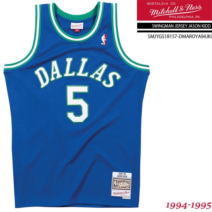 #SALE価格!通気性に優れたバスケタンク!日常使いにも 祝★開店 ミッチェル&ネス ユニフォーム MITCHELL  NESS SWINGMAN JERSEY-JASON KIDD 1994-1995 Dallas Mavericks SMJYGS18157-DMAROYA94JKI ジェイソンキッド ダラスマーベリックス スウィングマン ジャージー 大きいサイズ バスケ メンズ 男性[ZRC]
