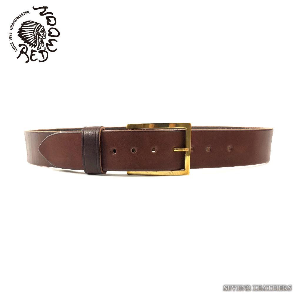 レッドムーン REDMOON ベルト 本革 ピンバックル 真鍮 メンズ レディース 日本製 vb-5s5836b