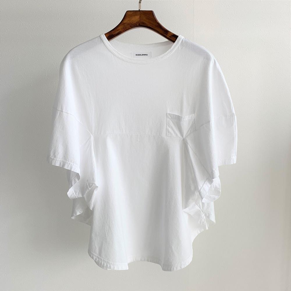 riddlemma サークルティー 19025 white size:2