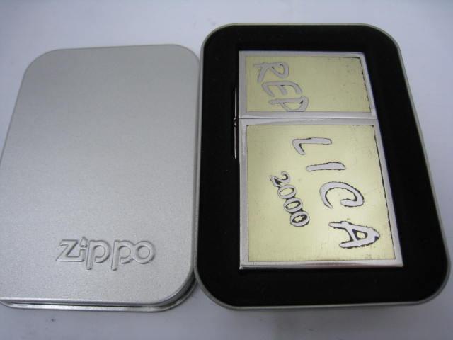 【中古】1999年製 平成11年 Zippo ジッポー オリジナル 1933 レプリカ オイルライター FIRST RELEASE ファースト 1st ゴールド シルバー