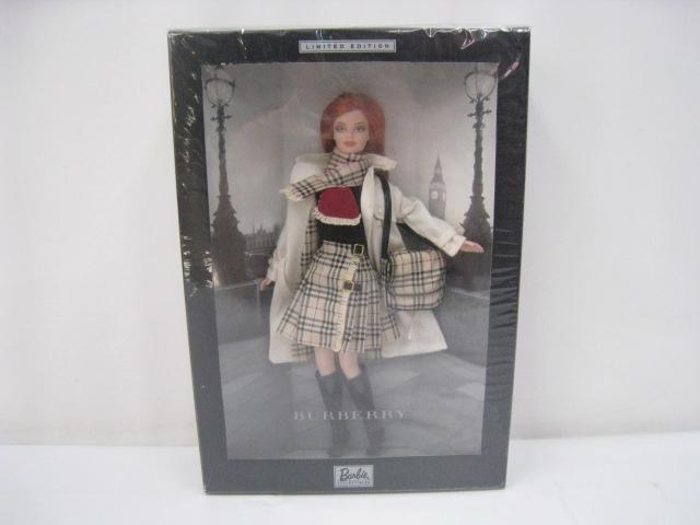 未開封 2000年 BURBERRY Barbie バーバリー バービー フィギュア 人形 ドール