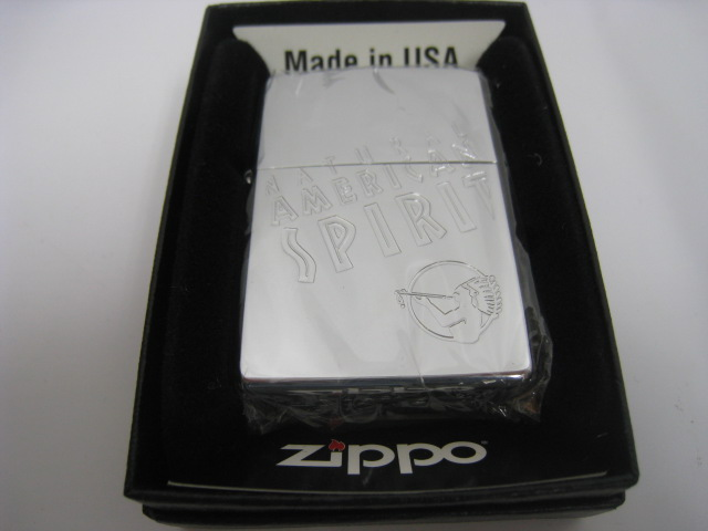 世界的に有名な 【新品】2000年製 平成12年 Zippo ジッポー アメリカンスピリット オイルライター シルバー, 鶴岡商事株式会社 72b928d6