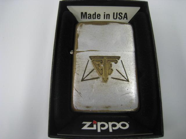 【中古】1936-1952年製 昭和11年-昭和27年 Zippo ジッポー ビンテージ オイルライター シルバー