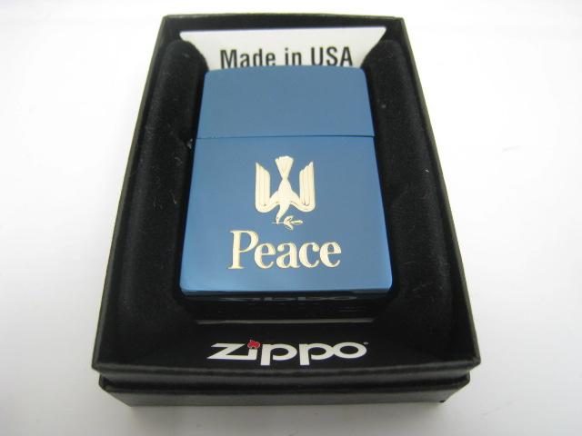激安超安値 【新品】1999年製 平成11年 Zippo 平成11年 ジッポー Peace ピース ピース Zippo ブルーチタン オイルライター, オフィスキングダム:9668db18 --- konecti.dominiotemporario.com