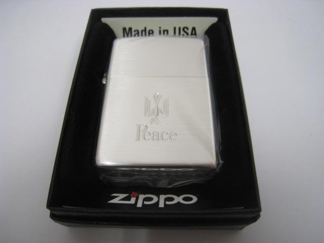 【新品】2015年製 平成27年 ZIPPO ジッポー 非売品 2016 Peace ピース オイルライター JT 日本たばこ