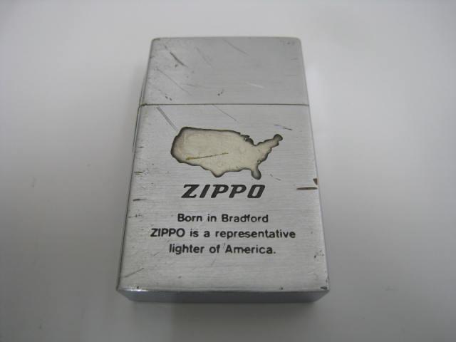 【中古】1988年製 昭和63年 ZIPPO ジッポー 初期レプリカ 復刻初年度 1932 REPLICA オイル ライター ロゴ シルバー ヘアーライン サイド4面鏡面 レプリカ FIRST ファースト
