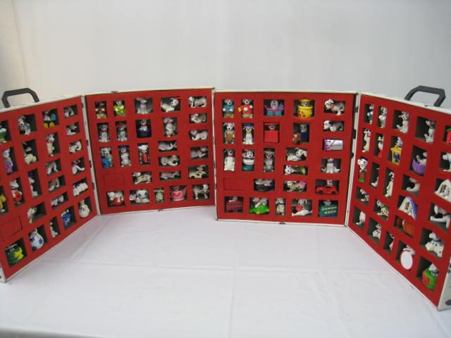【新品】1997年 マクドナルド Disney ディズニー ダルメシアン 101匹 わんちゃん フィギュア 101種 コレクションボックス セット ワンちゃん