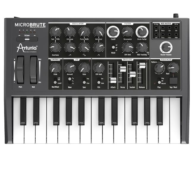 Arturia MicroBrute[アートリア][マイクロブルート][アナログシンセサイザー]