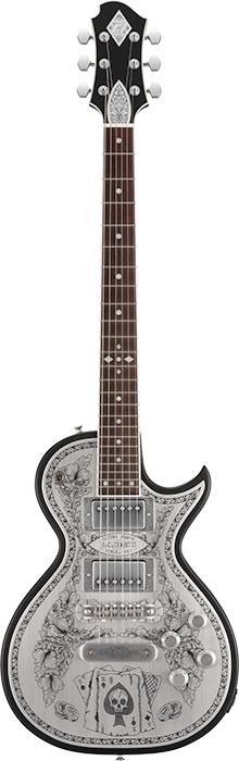 ZEMAITIS A24MF ACES & EIGHTS Black 【ゼマイティス】【アンタナス】【メタルフロント】【在庫希少】