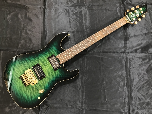 Schecter PA-LV/SXEmerald Green Burst[シェクター][Sxun][Fear, and Loathing in Las Vegas]