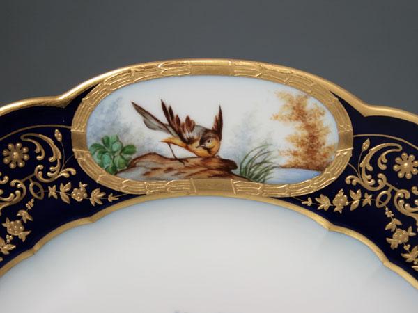 貂毛装饰瓷窑板鸟普莱西 K38 中国法国
