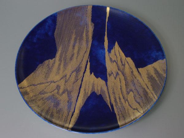 セーブル ディナー皿GUITET70 陶磁器洋食器 フランス SEVRES