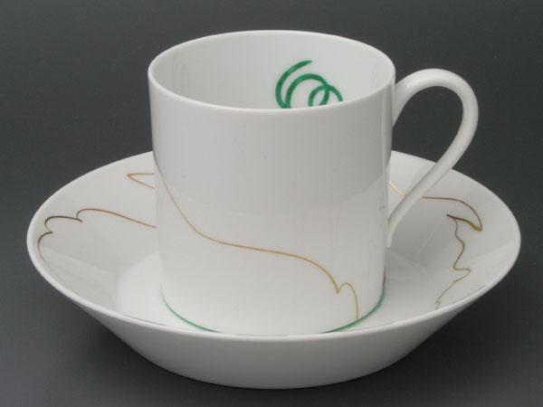セーブルコーヒーカップリトロン・ガフゲン洋食器 陶磁器フランス SEVRES