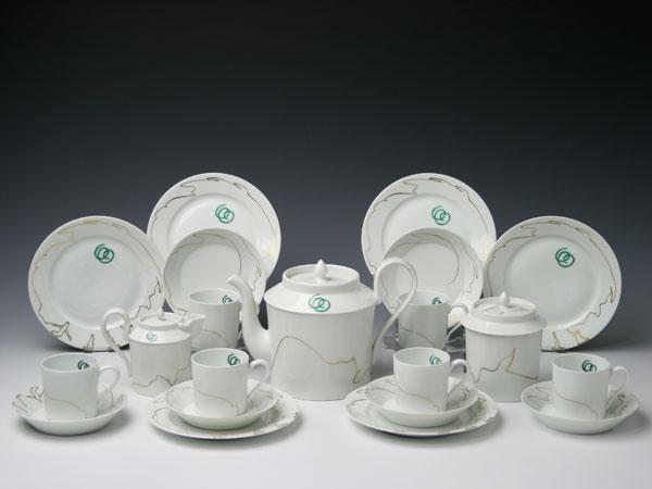 【幻の陶磁器と称されるフランスの国窯セーブル(SEVRES)】コーヒーセットリトロン(6人用)Wolfgang GAFGEN(ガフゲン)白磁 洋食器直輸入販売