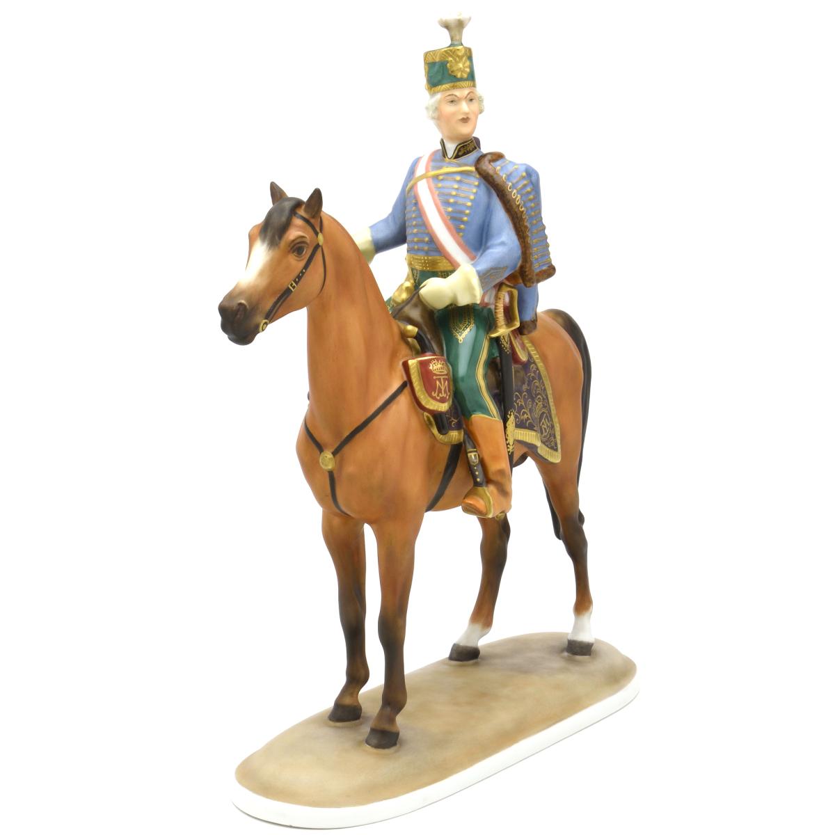 ヘレンドMCD(ヘレンド フィギュリン) (05475)アンドレ・ハディク中将人形・置物・飾り物ブランド陶磁器HEREND ハンガリー