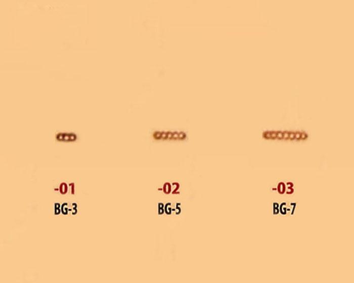 レザークラフト SS刻印 (BARRY-KING) BG-3/-5/-7 28603 (メール便不可)