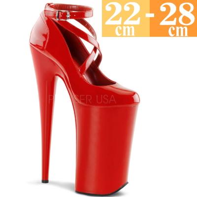 【お取り寄せ品】厚底パンプス 赤 【ハイヒール ピンヒール エナメル 大きいサイズ 靴】BEY087RM(type)