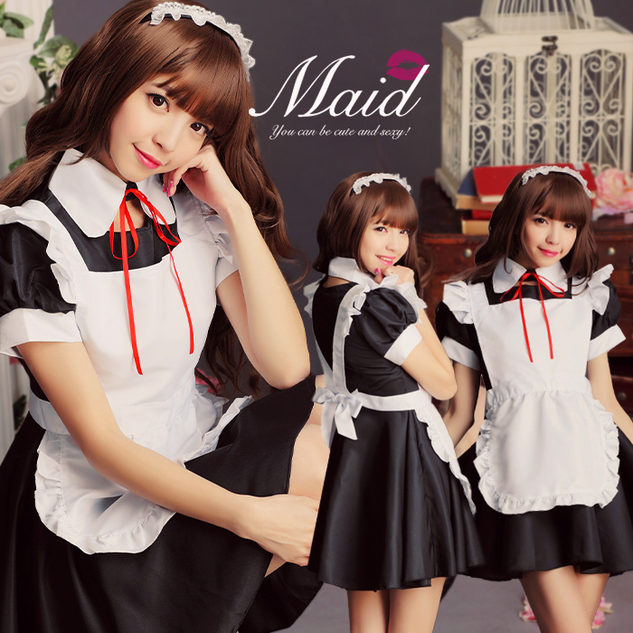 Sexyqueen Maid Dress Cosplay Costume Anime Store Gothic Akb48