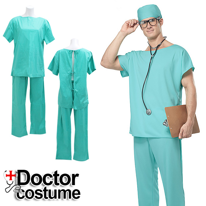 70d0a3108a93c SEXYQUEEN: Men's horror zombie for doctor gown doctor gown Halloween ...
