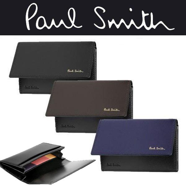 【エントリーしてポイント2倍!本日3日23:59まで】ポールスミス 財布 コレクション メンズ シティエンボス 名刺入れ P303 パスケース カードケース 財布 本革 レザー 男性用 送料無料 ギフト プレゼント ラッピング無料 Paul Smith