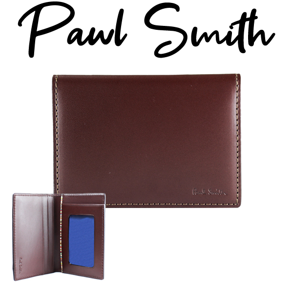 ポールスミス カードケース パスケース 定期入れ カードケース レザー Paul Smith メンズ レディース ブランド 牛革 送料無料 正規品 新品 2020年 ギフト プレゼント ブラック 黒 2020 オールドレザー P481 873215 PSC481