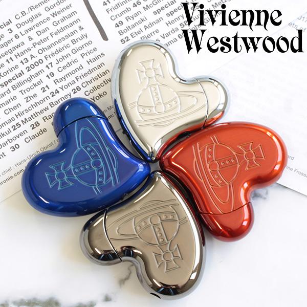 ヴィヴィアン Vivienne Westwood 正規品 新品 送料無料ラッピング無料 通販 喫煙具 追跡可能メール便 ヴィヴィアンウエストウッド ライター ガンメタル 安売り メンズ レディース ハートシェイプ 電子ライター ガスライター 111834 シルバー バレンタインデー
