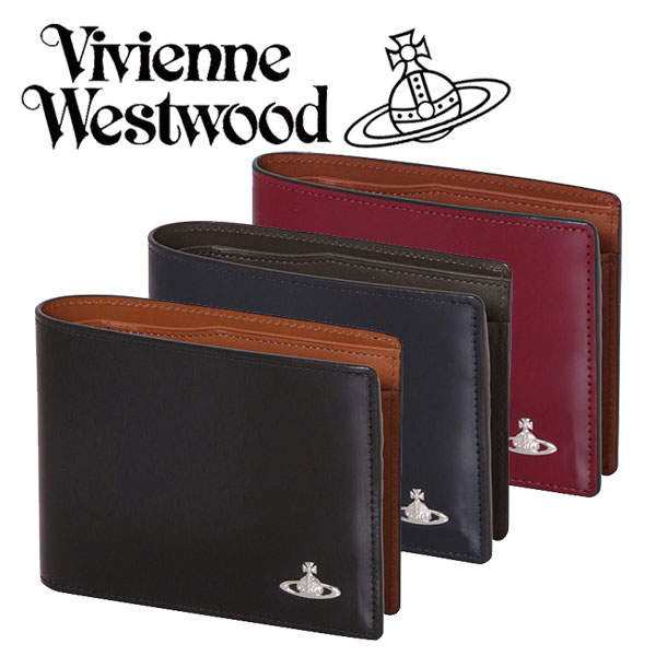 ヴィヴィアン レクス2 二つ折り財布 VWK303