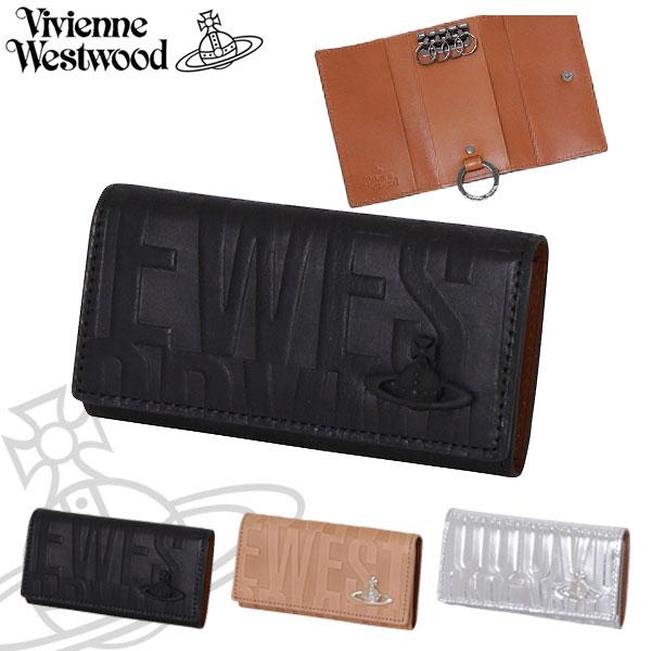 ヴィヴィアンウエストウッド レディース キーケース ブライダルボックス 牛革 ブラック ベージュ シルバー 3518V55