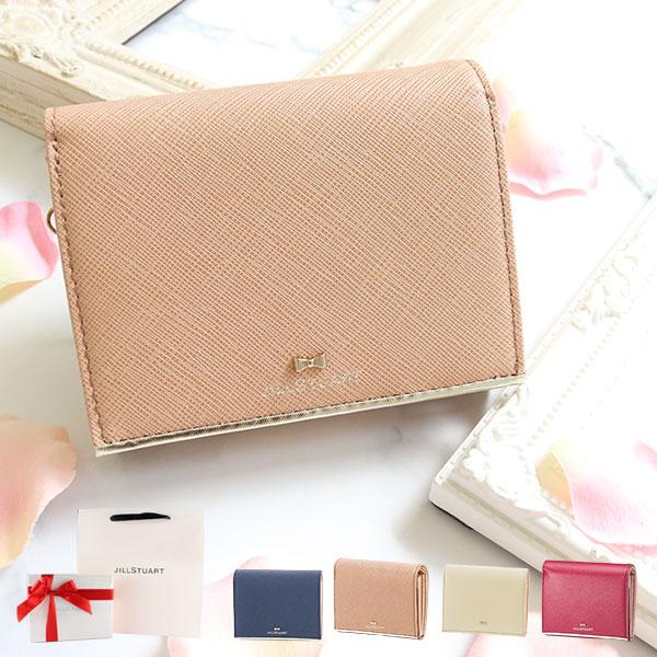 ジルスチュアート 折り財布 レディース プリズム アイスブルー ブラック ピンク JSLW7DS1