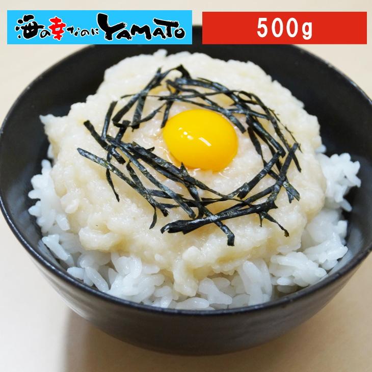 摺りおろさなくていいんです 解凍するだけの便利品 北海道産長芋のとろろ500g かけご飯 冷凍食品 ご飯のお供 SALENEW大人気! 本物